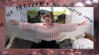 Knit A Sweater With Me 🌷🌝