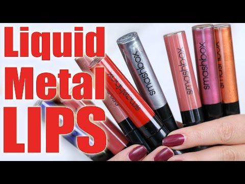 LIQUID METAL LIPS  | Hot Hot Hot