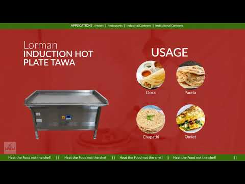 Commercial Electric Dosa Plate