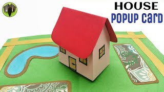 3D House Popup Card - DIY Tutorial - 902