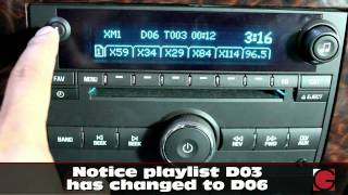Chevrolet GMC Buick Saturn 2007- 2012 GROM-USB2P Android USB Bluetooth and iPhone Car Kit  demo