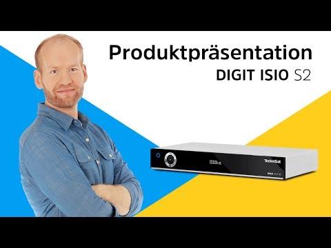 DIGIT ISIO S2 | Digitaler Sat-Receiver der Premiumklasse mit Steuerung per App | TechniSat