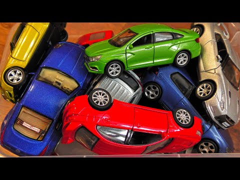 Metal Toy Cars From The Box || 20 Cars Selected From My Collection
