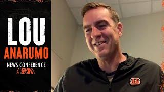 Defensive Coordinator Lou Anarumo | Players More Comfortable With The Scheme | Cincinnati Bengals