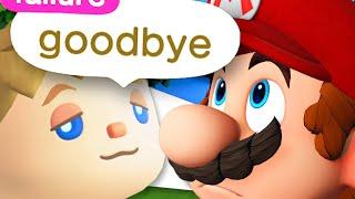 Animal Crossing but it's Mario