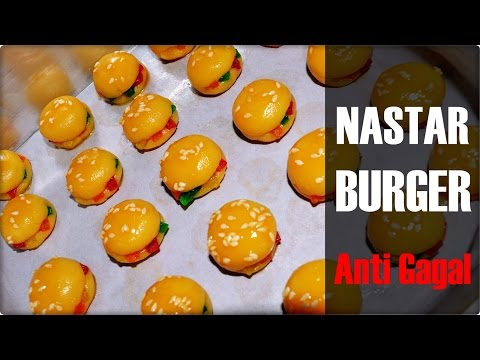 Video Resep Kukis Unik Lebaran |  Nastar Burger Anti Gagal