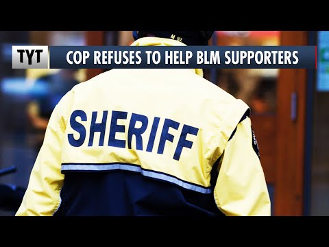 Sheriff Triggered by BLM Supporters: Don't Call 911. We Won't Help You