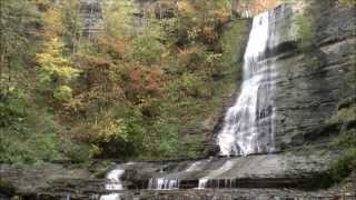 preview picture of video 'Warsaw Falls, Warsaw, NY'
