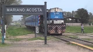 preview picture of video 'Alco RSD-39 658 llegando a Mariano Acosta (09-10-2013)'