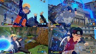 naruto to boruto shinobi striker all characters jutsu - 免费