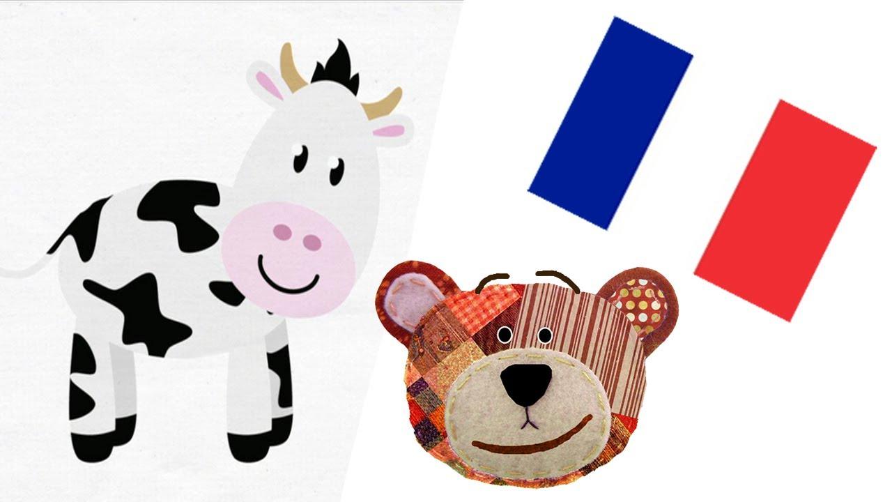 Francés para niños - Animales de la granja