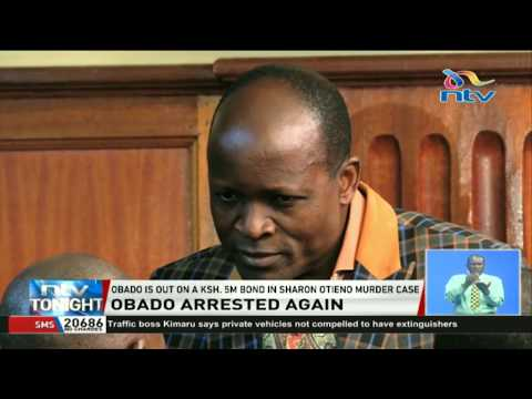 Governor Obado questioned at DCI headquarters