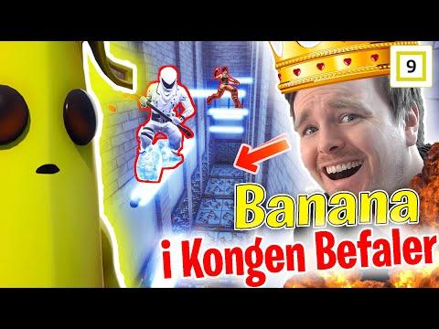 Banana inntar Kongen Befaler 🤣😂 Vær redd!