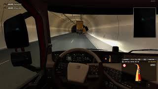 Tünelde Kaza