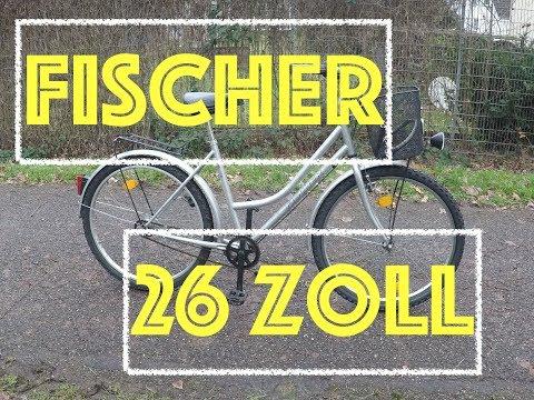 Fischer 26 Zoll Damen Fahrrad I Restauration