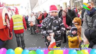 preview picture of video 'Karneval 2015 - Kukakö Rosenmontagsumzug Köthen'