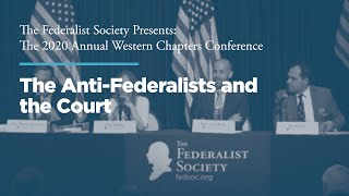 Click to play: Panel 3: The Anti-Federalists and the Court
