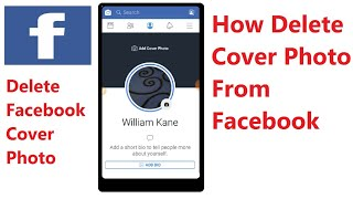How To Delete Cover Photo From Facebook