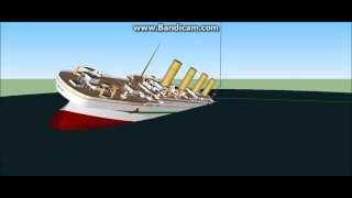 Sinking Ships In Google Sketchup 8