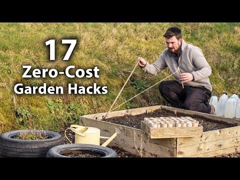 , title : '17 Brilliant FREE Vegetable Gardening Hacks | More Food for Less Effort