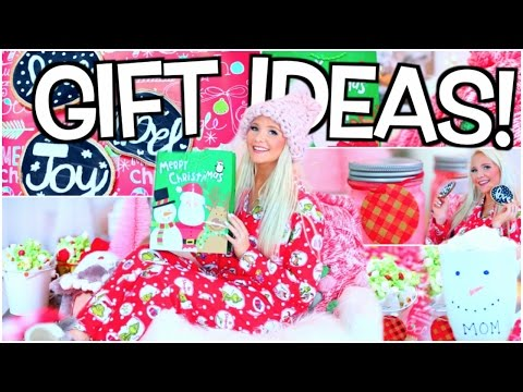 DIY Gift Ideas for Christmas! Holiday Gift Guide 2016