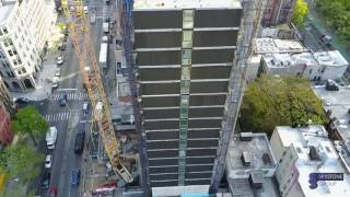 Modular construction at the ALT Hotel in Calgary's East