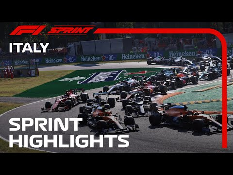 F1第14戦イタリアGP(モンツァ)予選スプリントレースのハイライト動画