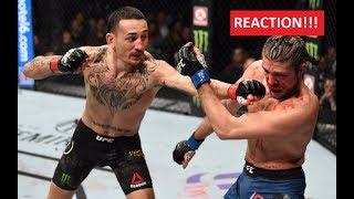 UFC 231: Max Holloway vs. Ortega - Reaction