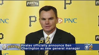 Pittsburgh Pirates Introduce Cherington As New General Manager