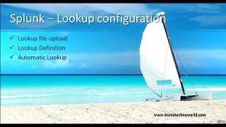 05. Splunk Tutorial - How to configure lookup in Splunk