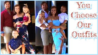 Family Photoshoot Outfit Ideas | Tiny Home Camper Trailer