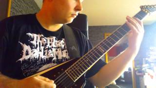The Black Dahlia Murder - Control (guitar cover)