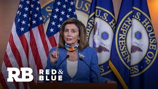 """Pelosi says White House """"put on a con"""" after briefing on Russia bounties"""
