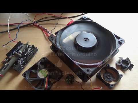BitBastelei #247 - PC-Lüfter per Arduino auslesen und steuern