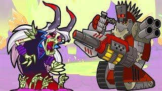 Tower Conquest взлом! Терминатор и Ведьма - Игры только для детей #84