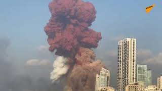 Powerful Explosion Occurs Near Beirut's Port