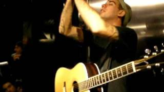 Anti Flag - The Great Depression (acoustic) @ Vans Store Paris