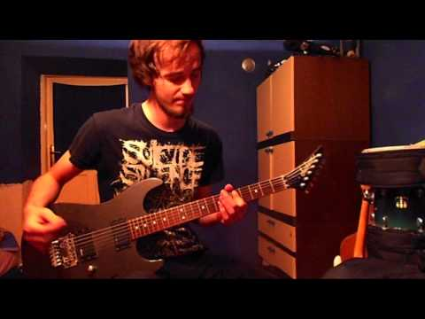 Blessthefall *CONTEST WINNER* - You Wear A Crown But You're No King (guitar cover)