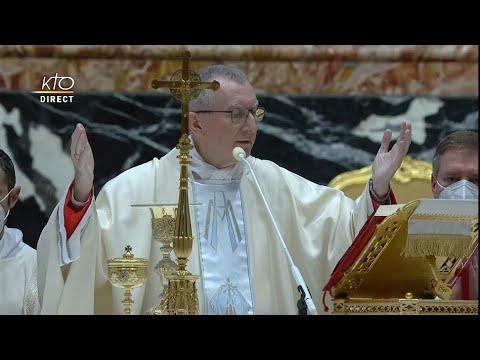 Messe pour la Paix à Rome