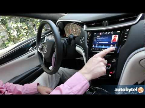 Cadillac CUE Demonstration - New Infotainment Features