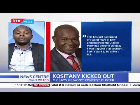 Political Analyst Solomon Kuria on Jubilee's decision to kick out Caleb Kositany from the party