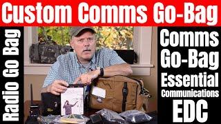 Radio Go Bag - Custom Comms Go Bag by AMP-3