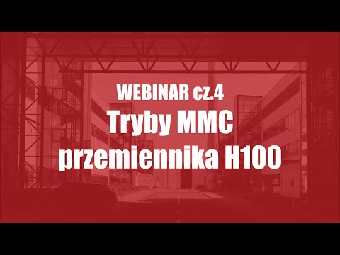 Poradnik Napędowca cz. 4 Tryby MMC przemiennika H100 (Multi Master, Multi Follower i klasyczne) - zdjęcie
