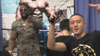 Kali Muscle Going Viral at LA Fit Expo 2017