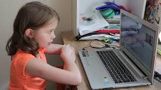 Урок в онлайн школе Speak and Fun