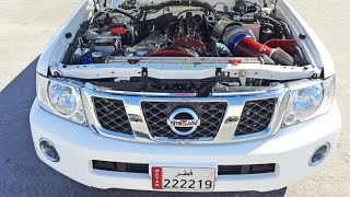 SLEEPER Nissan Patrol in Qatar - 800hp!
