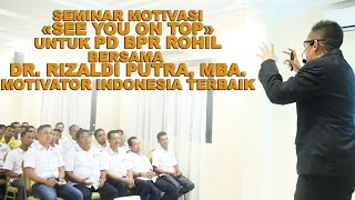 DR. RIZALDI PUTRA - MOTIVATOR INDONESIA TERBAIK