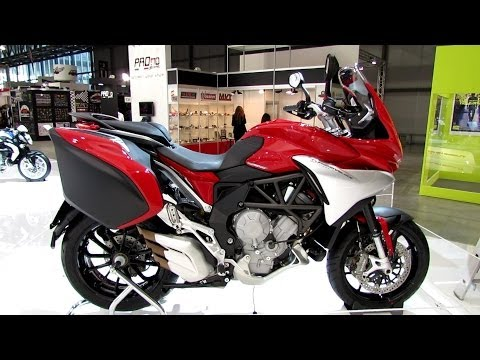 2014 MV Agusta Turismo Veloce 800 Lusso Walkaround - Debut at 2013 EICMA Milan Motorcycle Exibition