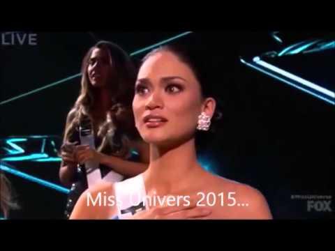 Image video Erreur lors de l'annonce de Miss Univers 2015