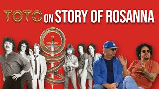 TOTO Band Members on Story Of 80s Classic Rosanna | #1 In Our Hearts | Professor of Rock